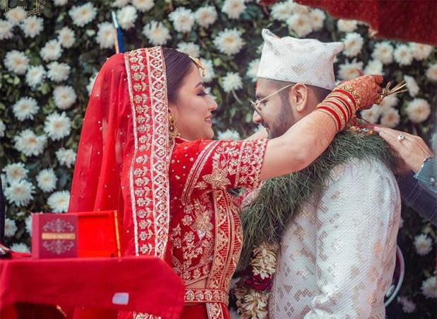 Shweta Khadka wedding