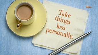 stop taking things personally to live the life of your choice