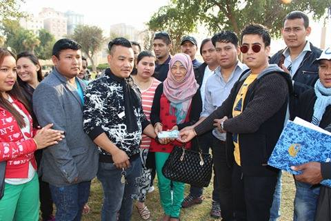 मृगौला खराब भएकी नेपाली चेलीलाई ठकुरी समाज कुबेतको ३ लाख आर्थिक सहयोग