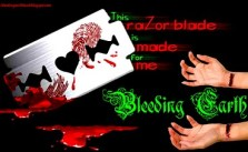 Bleeding Earth - This Razor Blade is Made for Me