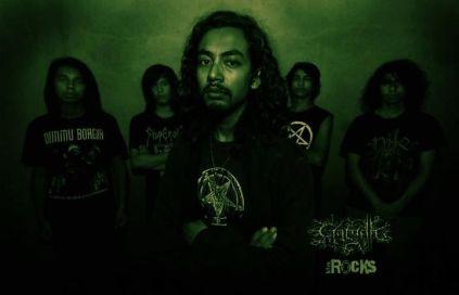 Garudh Nepali Black Metal Band