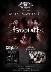 Metal Mayhem II nepali underground gig