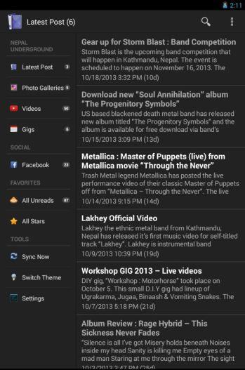 nu android app screenshot 2_