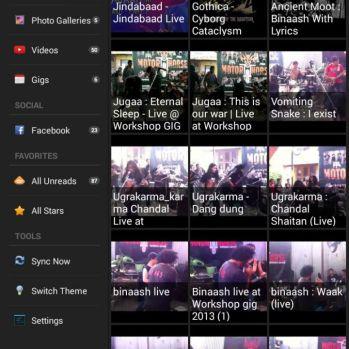 nu android app screenshot_