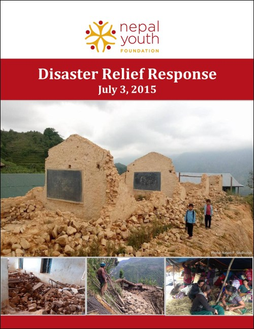 NYF's Disaster Relief respose, July 3, 2015 -