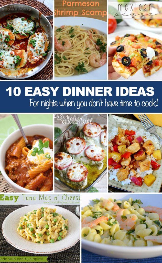 Fun Easy Things Cook Dinner