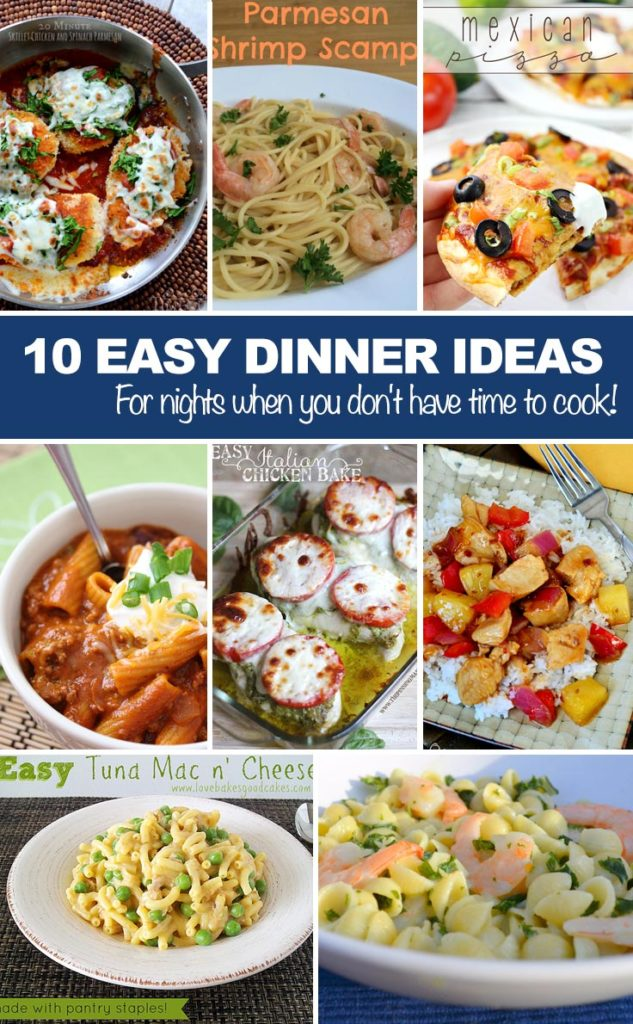 Fun Easy Dinner Ideas