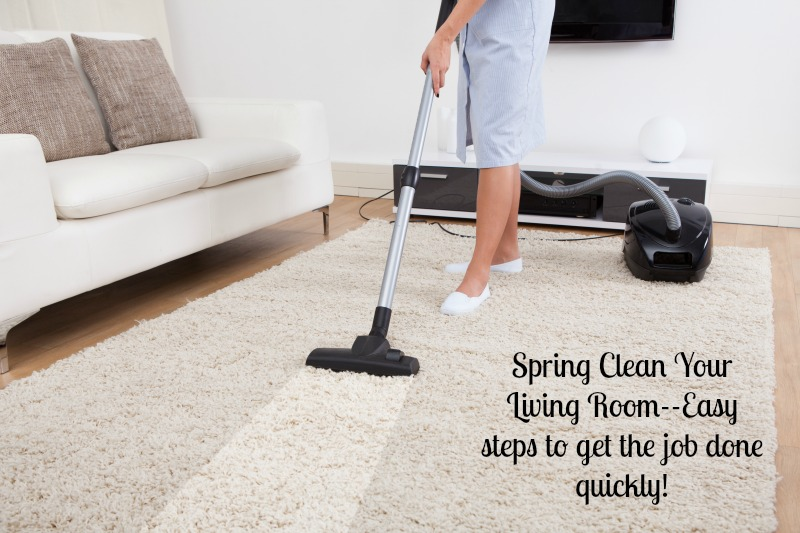 Clean Your Living Room Fast Busy Moms Change Your Cleaning