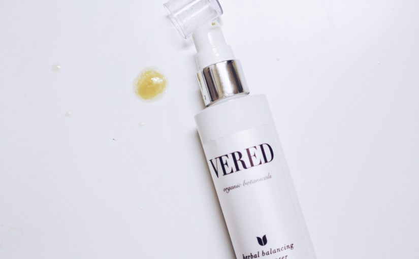 Vered Organic Botanicals Herbal Balancing Oil Cleanser