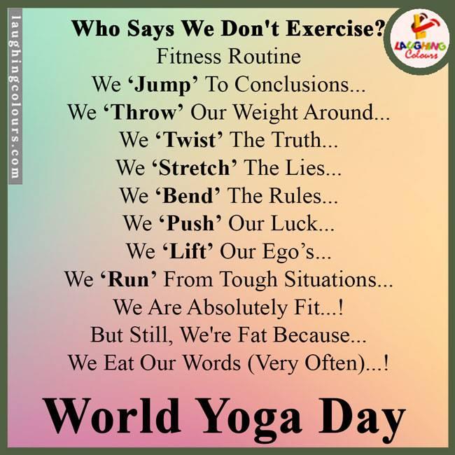 Woild Yoga Day