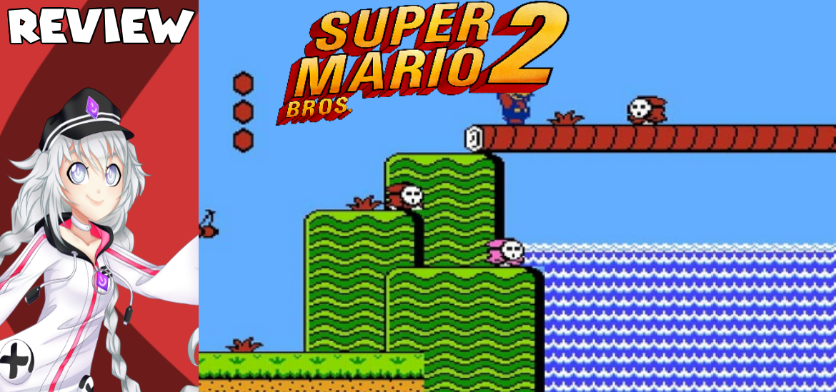 Super Mario Bros. 2 – Wait, that's not a Mario game!