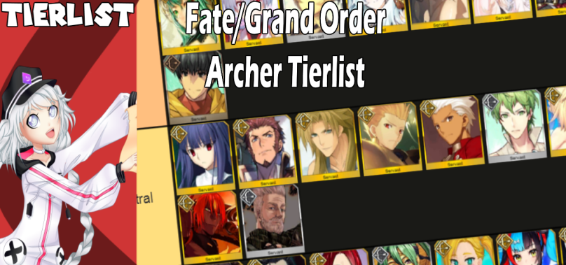 Fate/Grand Order Tierlist: Ranking all Archer servants!