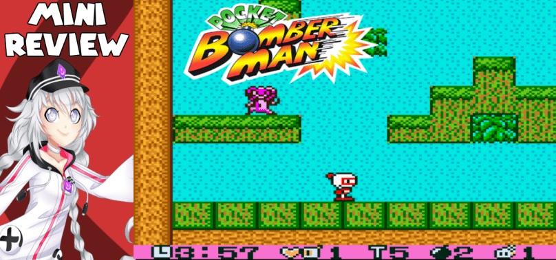 Pocket Bomberman – Mario but with bombs