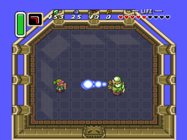 A Link to the Past Agahnim