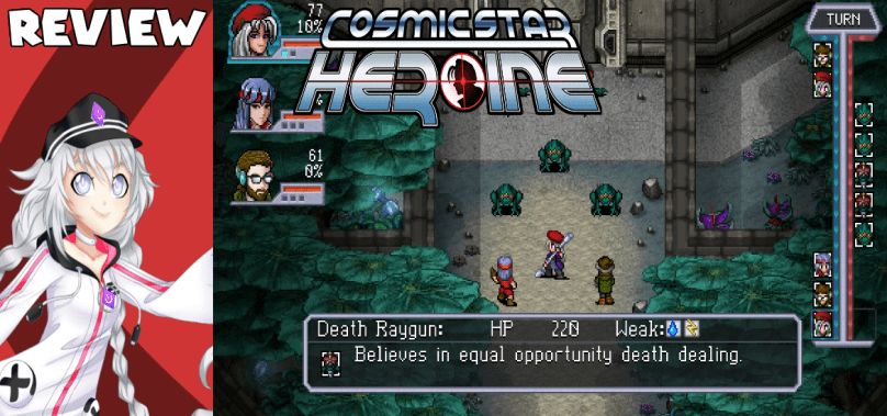 Cosmic Star Heroine – Chrono Trigger in space?!