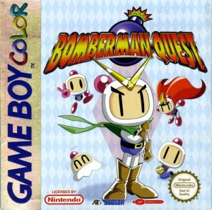 Bomberman Quest Cover