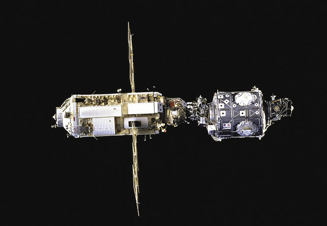 3D Lasers used in space for docking guidance