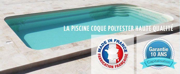 fabricant francais de piscine coque
