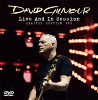 David Gilmour - Live And In Session Limited Edition DVD.