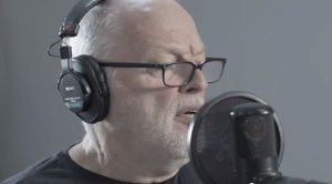 David Gilmour recording Louder Than Words for The Endless River Album