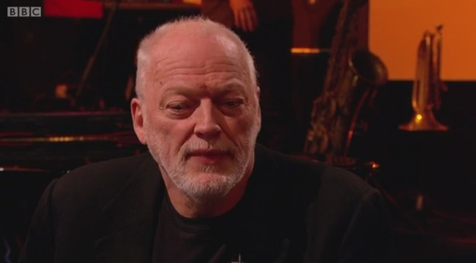 Watch David Gilmour Interview on Later With Jools Holland