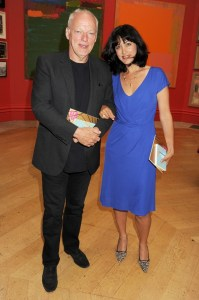 Polly Samson and Husband David Gilmour