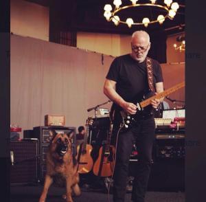 David Gilmour Tour Rehearsals