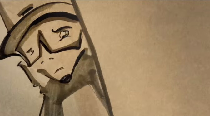 Watch David Gilmour – In Any Tongue – Full Video Animation