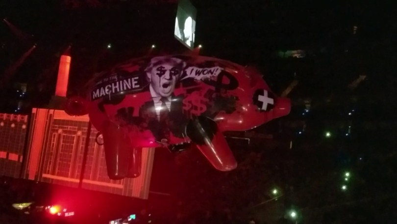 Roger Waters Tour 2017 - Donald Trump on the Pig