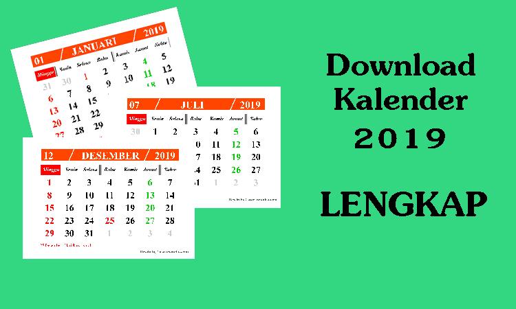 download kalender 2019 hijriyah lengkap