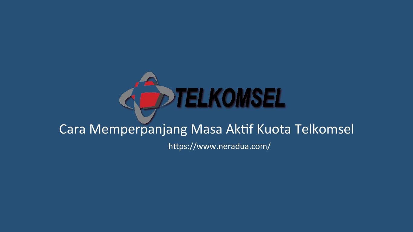 Cara Memperpanjang Masa Aktif Kuota Telkomsel