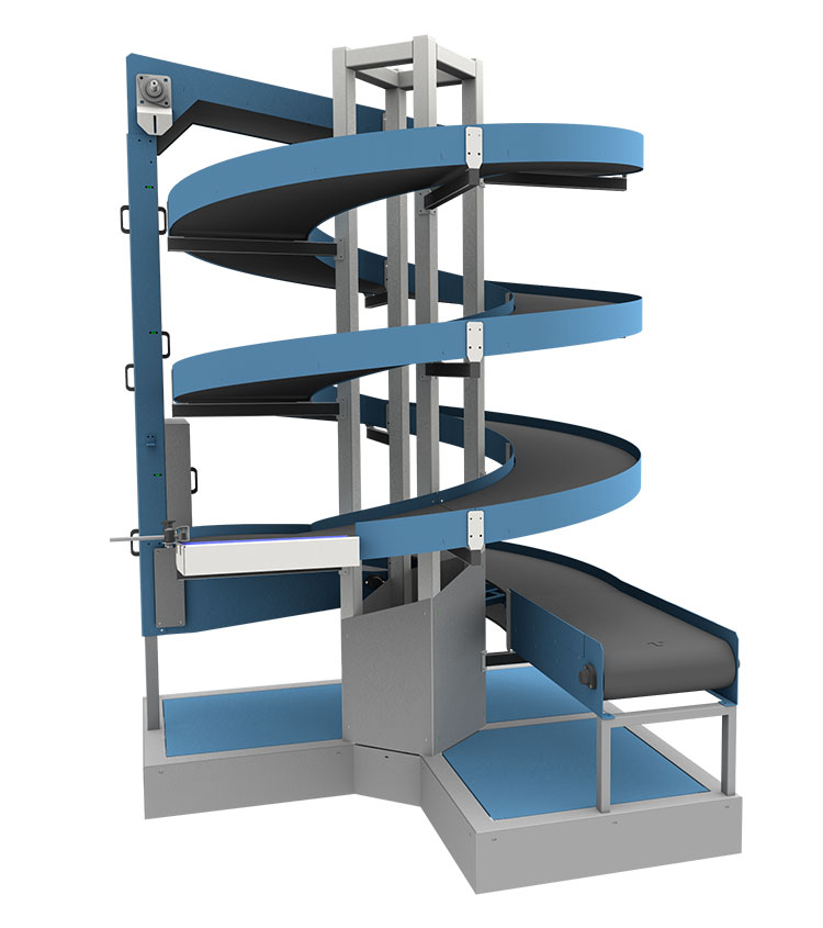 Lifts for Warehouses | Spiral Elevators and Conveyors