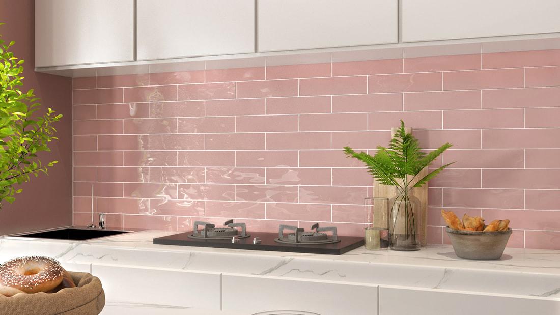 8062 pink subway tile gold coast tile