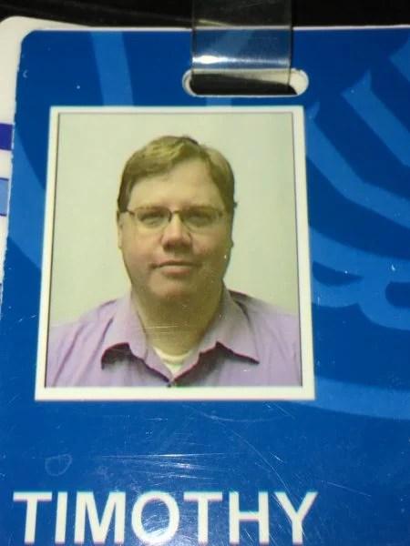 Tim Badge Picture