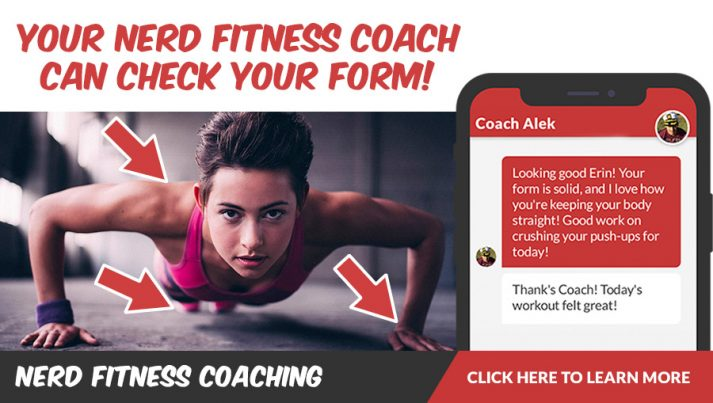 Hiring an online coach to check your form is a gamechanger