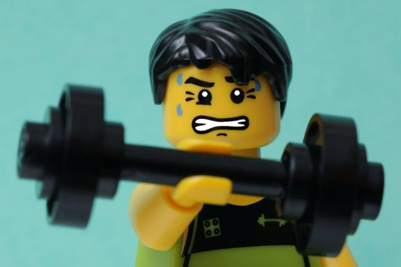 If this LEGO wants to fuel his workouts with plants, what should he eat? Let's explore.