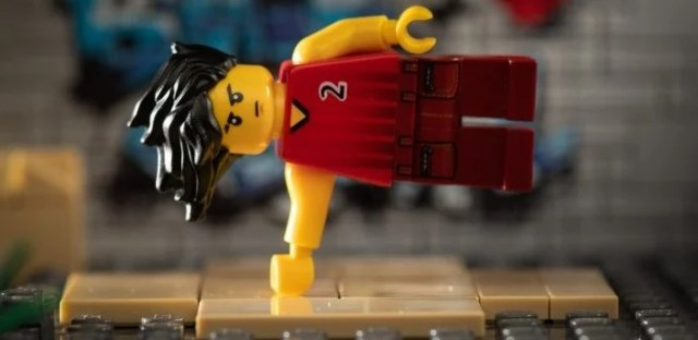 This LEGO always does his warm up before he trains at home...or on the street.