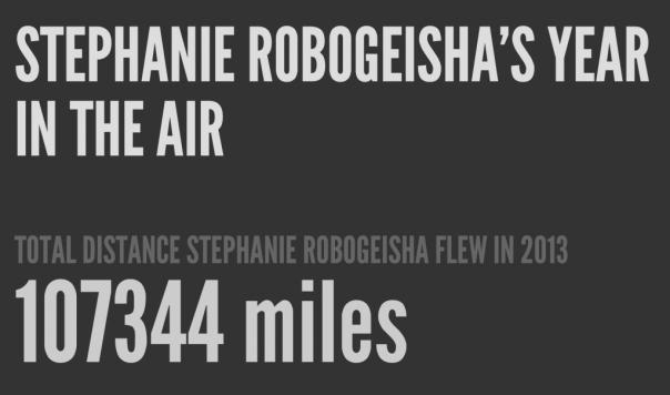 Stephanie_Robogeisha_s_year_in_the_air
