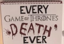 Morti del Trono di Spade - Cover