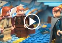 prequel di Star Wars fatto con i Lego