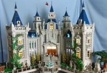 villa di Bruce Wayne fatta di Lego
