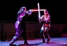 duello con la spada laser