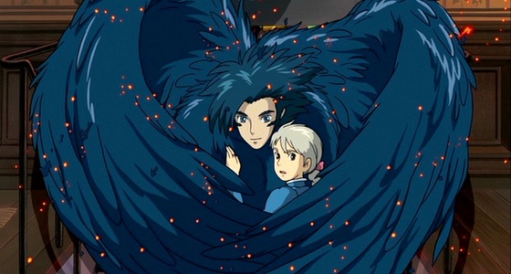 One of Howl's incarnations with Sophie, as her curse wears off.