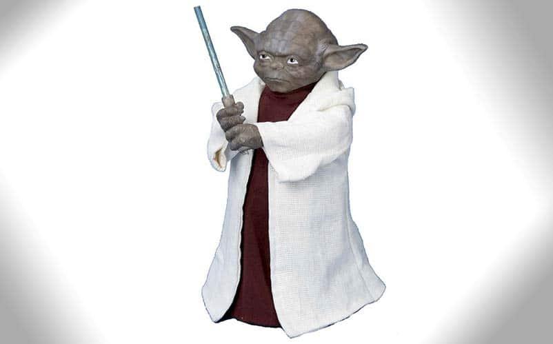 Star Wars Christmas Tree Topper Yoda Nerd Much