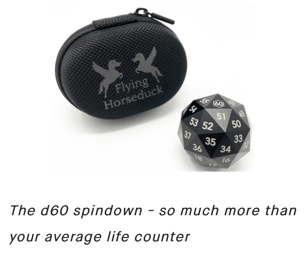D60 and life counter dice-Kickstart your Collection » Nerd OD