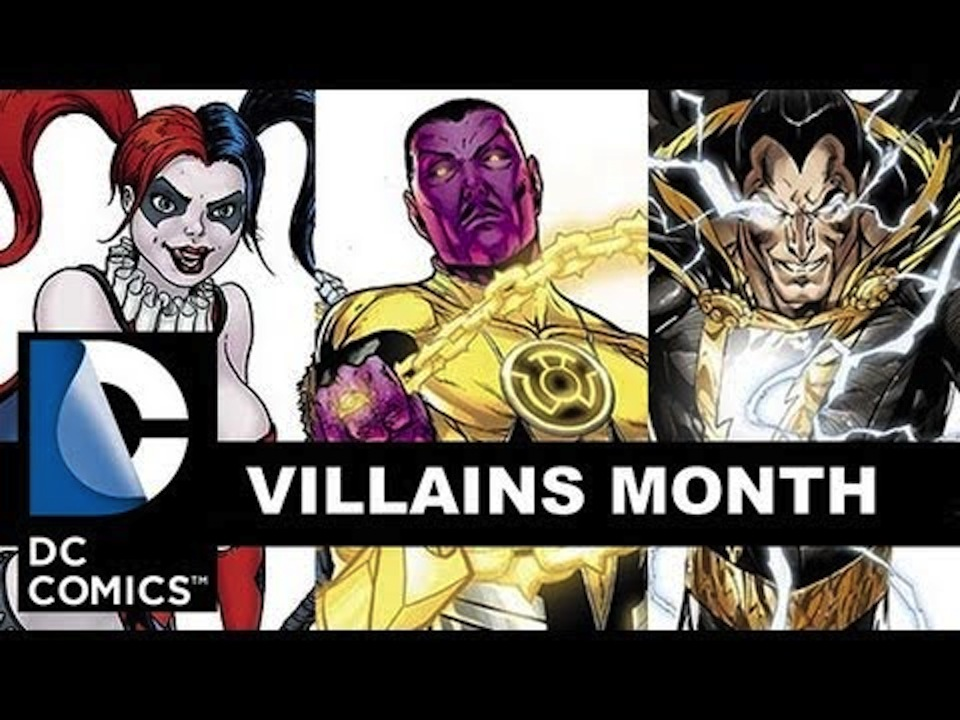 Nerds on Comics: Variant Covers of DC Villains Month