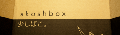 Unboxing: SKOSHBOX April 2014