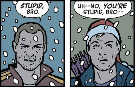 A LACK OF CLINT IS HELLA STUPID, BRO. [comicvine.com]