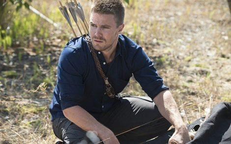 He knows how to use a gun, and yet he chose to make a bow out of a lamp. Oliver... [arrow-hq.com]