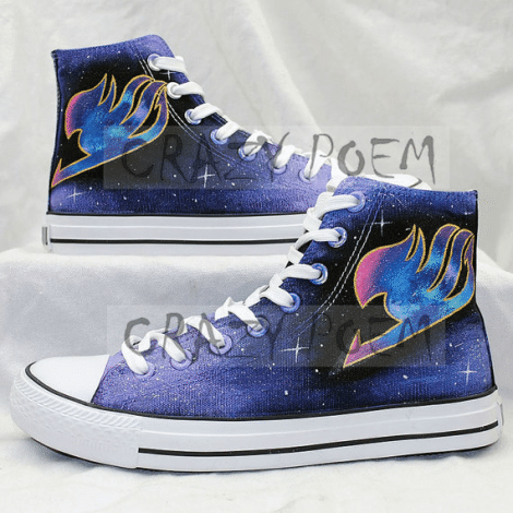 Fairy Tail Inspired Shoes [Etsy]